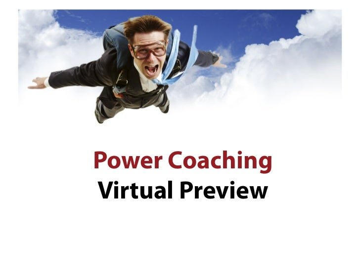 Preview of Power Coaching