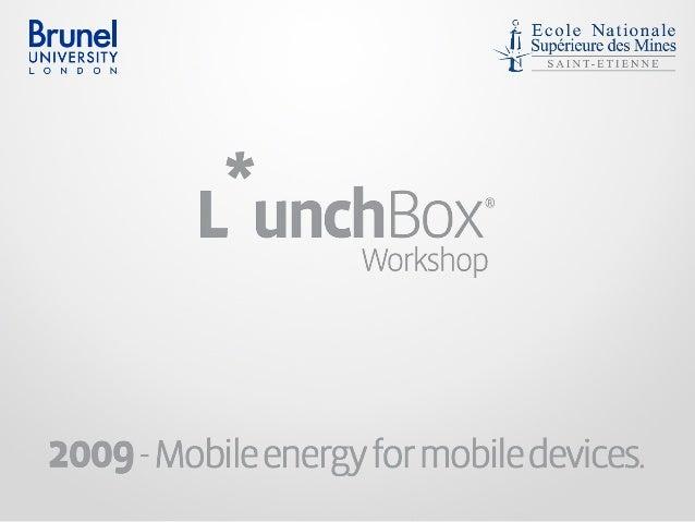 ㅍPauline JeremyMaël JeaWorkshop for Industrial InnovationSaint Etienne 2009