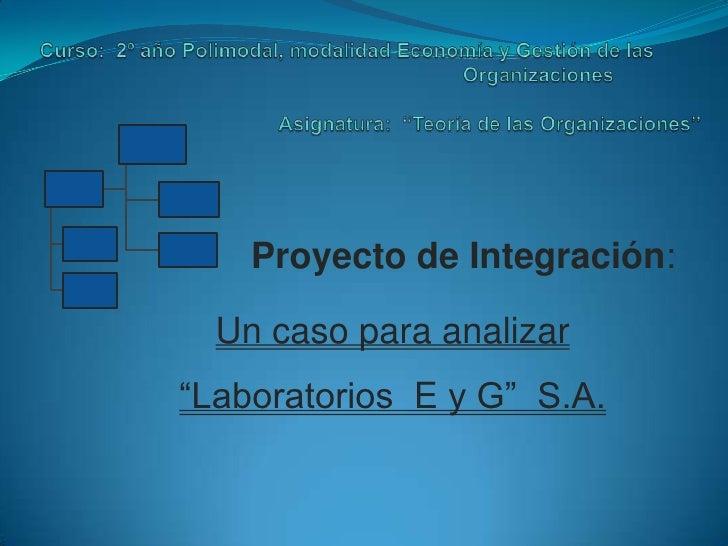 Curso:  2º año Polimodal, modalidad Economía y Gestión de las                                                             ...