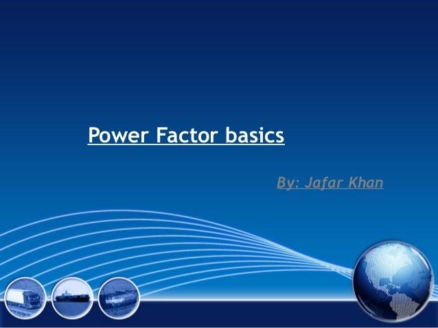 Power factor(r)