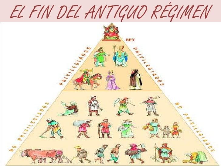 EL FIN DEL ANTIGUO RÉGIMEN<br />
