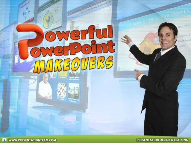 Powerful PowerPoint Makeovers: PowerPoint Design & Presentation Redesign Samples