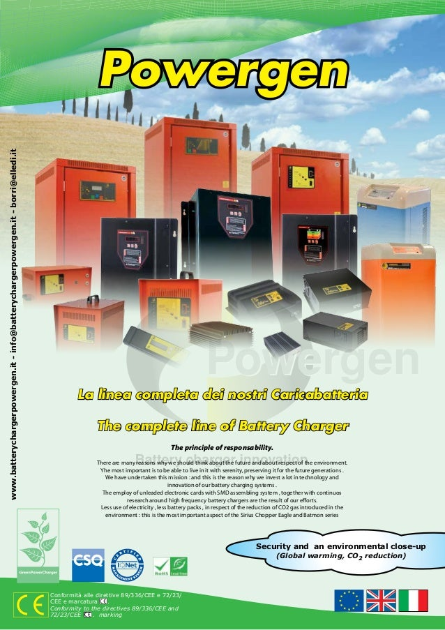 Powergenwww.batterychargerpowergen.it - info@batterychargerpowergen.it - borri@elledi.it                                  ...
