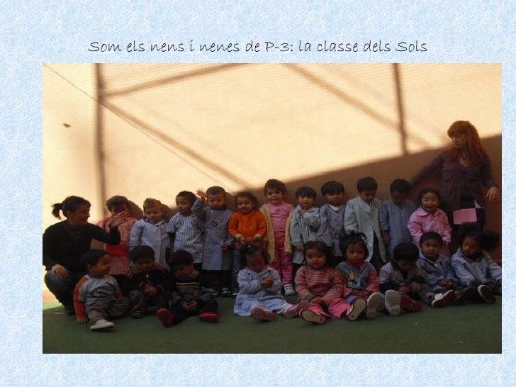 Som els nens i nenes de P-3: la classe dels Sols