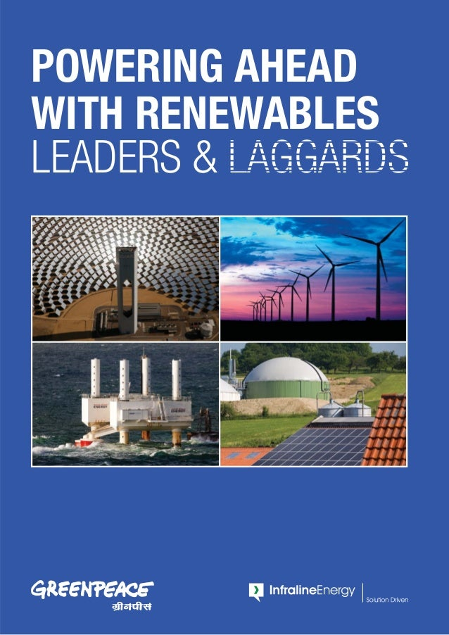POWERING AHEAD WITH RENEWABLES LEADERS & LAGGARDS