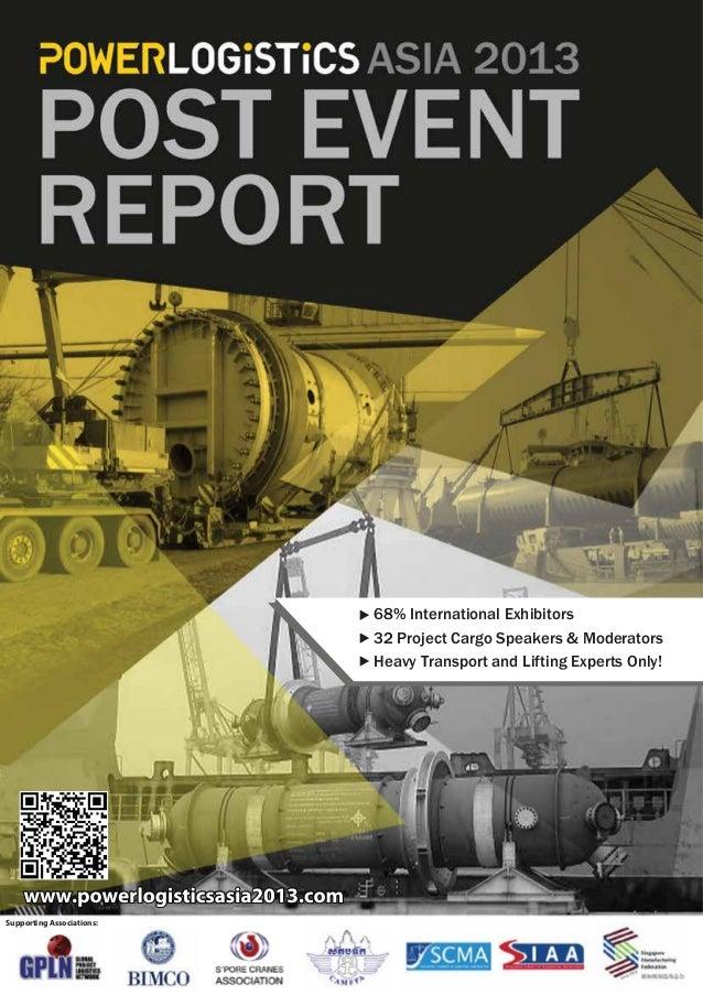 PowerLogistics Asia_Post Event Report 2013