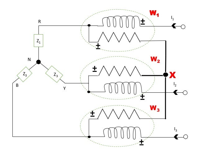 Power Measurement In 3-phase AC Circuits