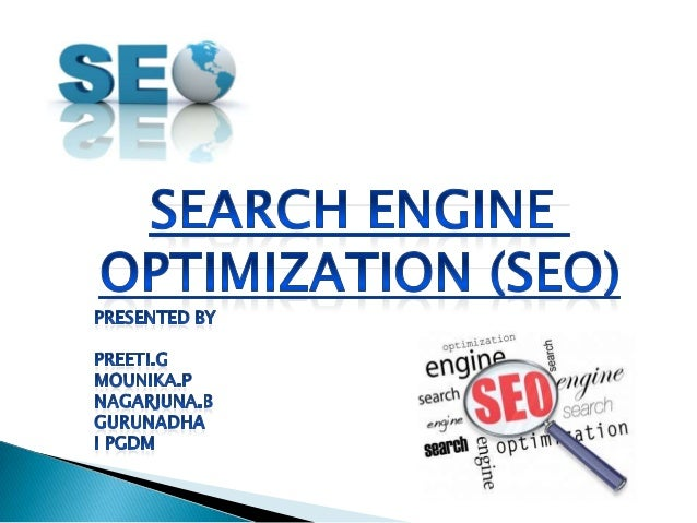 Search Engine Optimization (SEO) is the process of affecting the visibility of a website or a web page in a search engine.