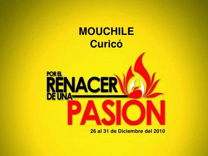 MOUCHILE Curicó<br />26 al 31 de Diciembre del 2010<br />