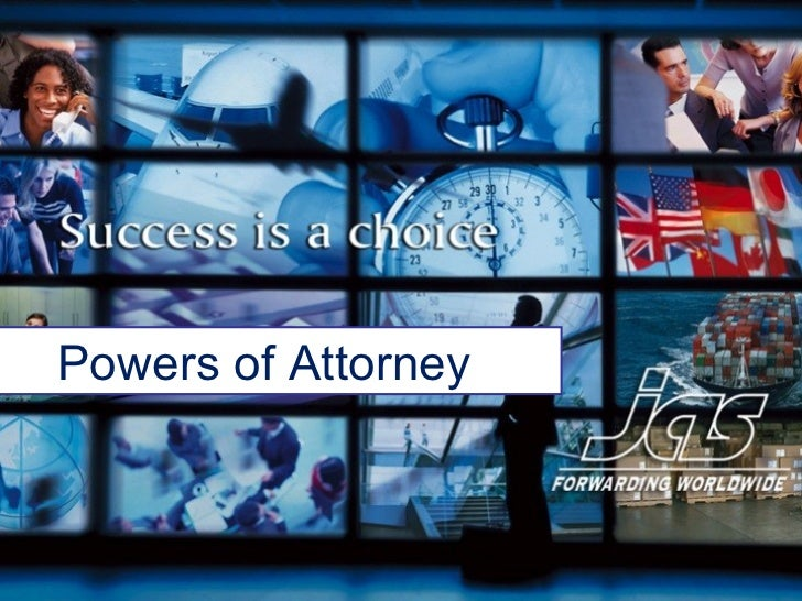 Power of attorney training
