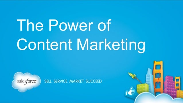 The Power of Content Marketing at @Dreamforce