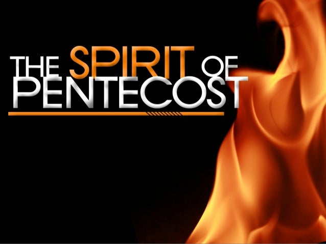 Passover & Pentecost show us: 1. Principle of GIVING