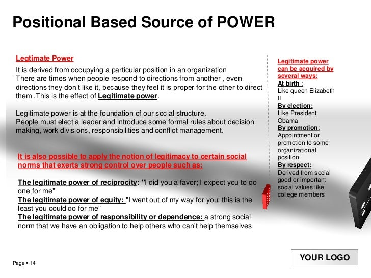 the power of negotiations Expertise power: expertise power comes from having a particular skill which you can apply and which can influence the outcome of the negotiation.