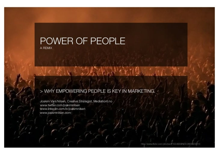 Power Of People