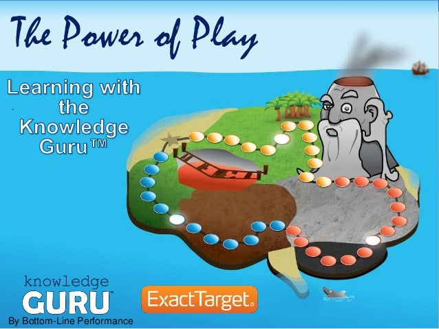 The Power of Play: Learning with The Knowledge Guru