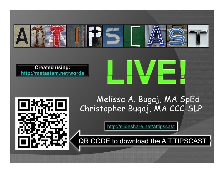Created using:http://metaatem.net/words   p                           Melissa A. Bugaj, MA SpEd                           ...