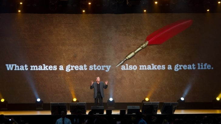 What makes a great story   also makes a great life.