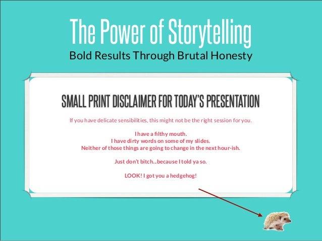 The Power of Storytelling, by Erika Napoletano