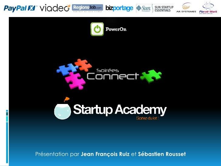 Soirée Connect Startup Academy