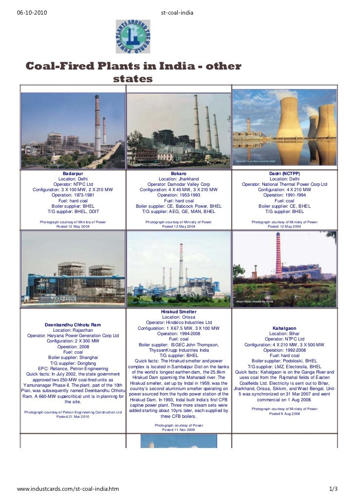 Power Plants - Other States - -  For Sealing Compounds for Power Stations Call +91-891-2564393