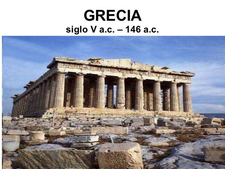 Presentación sobre Grecia