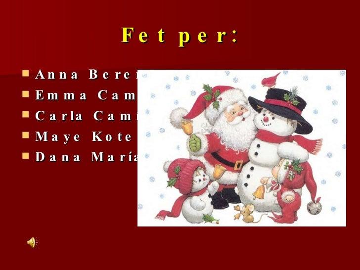 Reportatge de les festes de Nadal