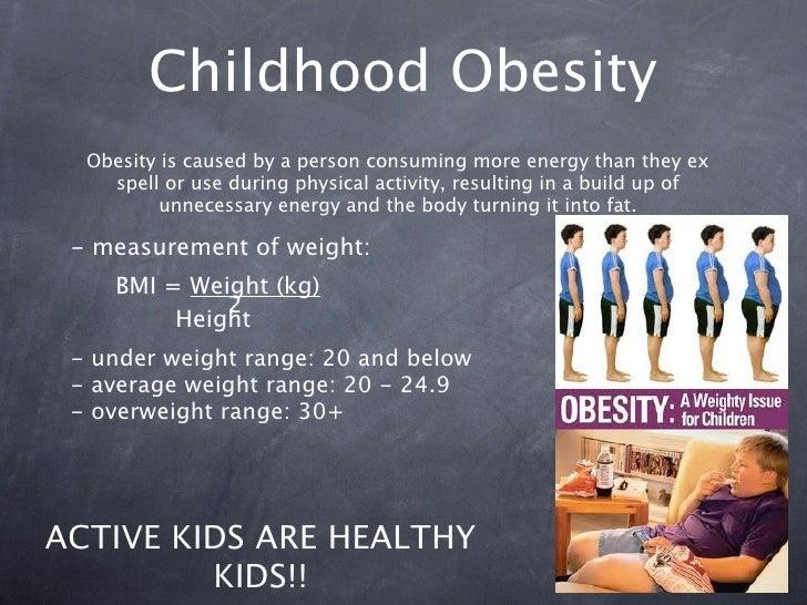 Childhood Obesity Essays