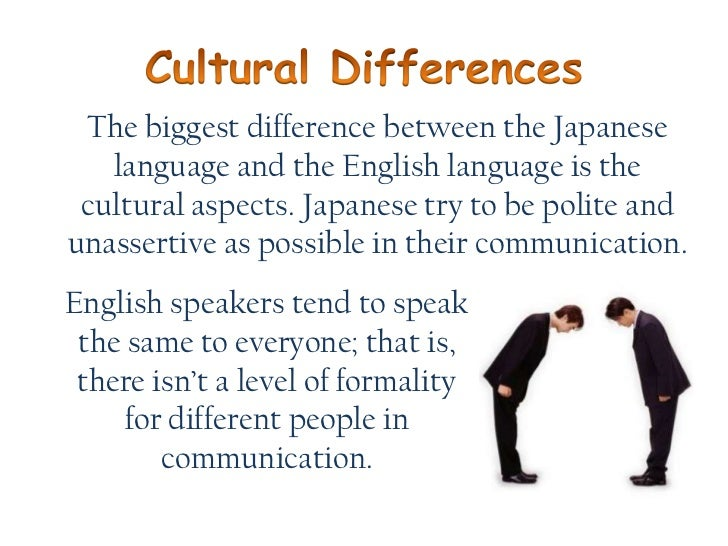 culture and cultural differences essay