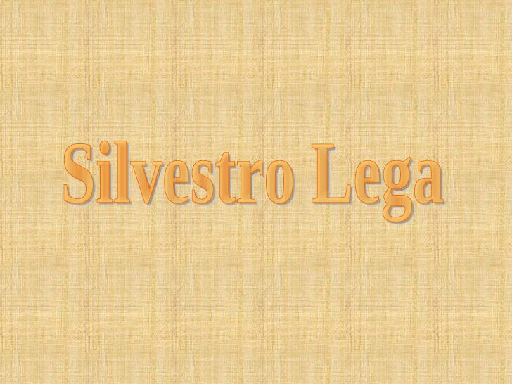 Silvestro Lega nacque a Modigliana (FO) nel 1826 e svolse lasua formazione giovanile presso l'Accademia di Belle Arti diFi...