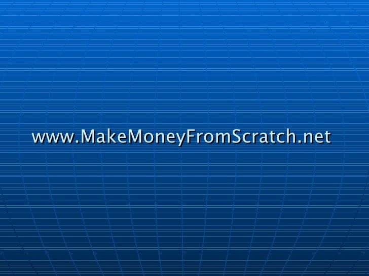3 Ways To Make Extra Money From Home - Make Money From Scratch