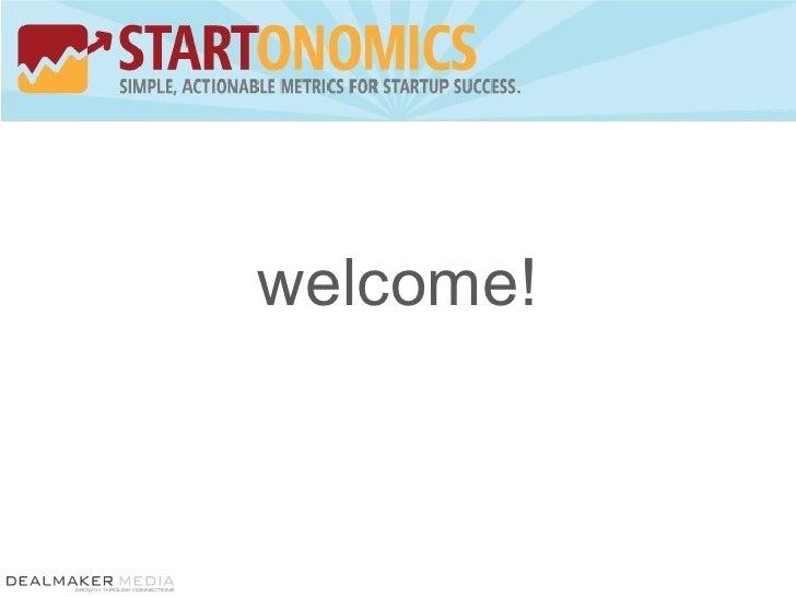 Startonmics Overview