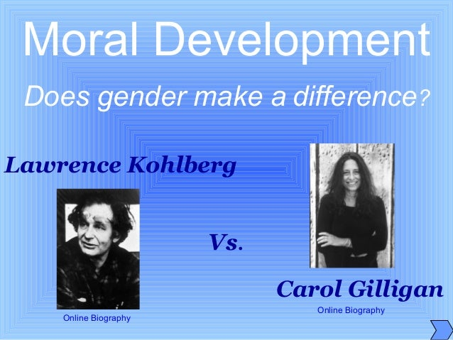 the feminist views of carol gilligan of harvard university ''i looked at girls at four different age groups, from 7 and 8 years old up to 15 and 16,'' says lyn mikel brown, just appointed to the harvard ed school faculty since the 1982 publication of her first book, ''in a different voice: psychological theory and women's development,'' carol gilligan's work has.