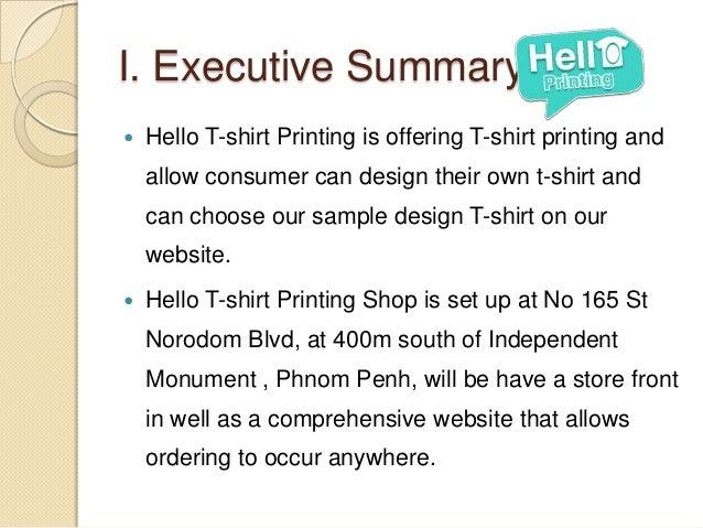 how to create a tshirt company