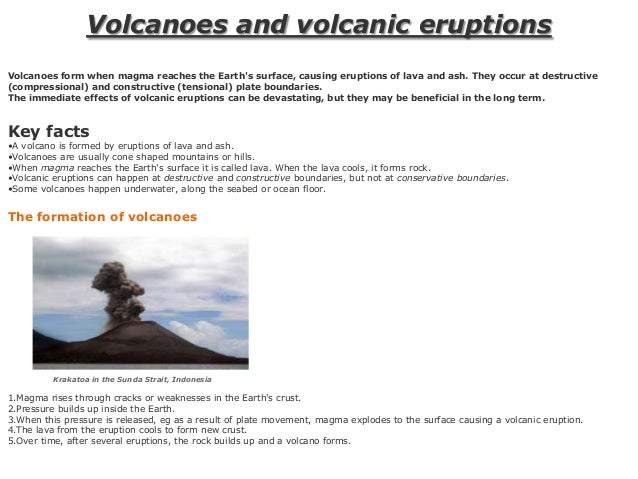 volcanoes risks and benefits essay The scientific evaluation of hazards and risks remains a primary concern in  poorly known volcanic regions the use of such information to.