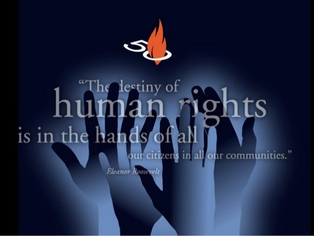 What is Human Rights?  Human Rights refers to the concept of human beings as having universal natural rights, or status, r...