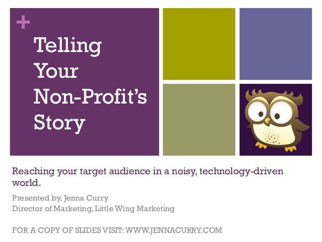 Telling Your Non-Profits Story