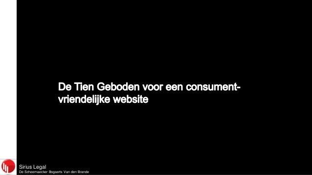 Sirius LegalDe Scheemaecker Bogaerts Van den Brande