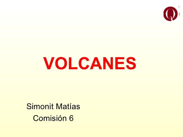 VOLCANES Simonit Matías Comisión 6