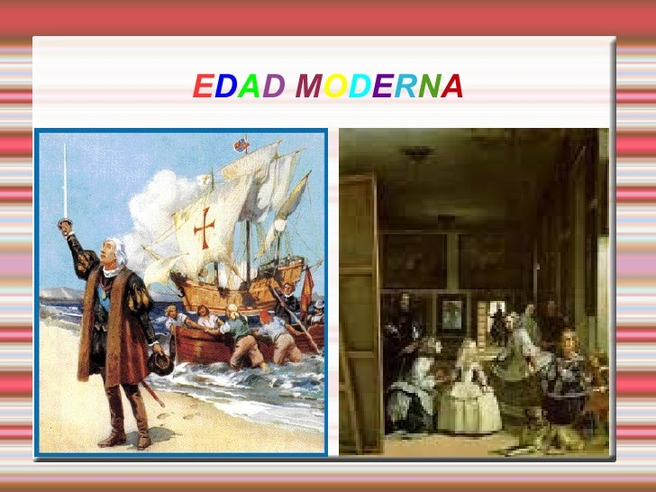 Power point la edad moderna for Imagenes de epoca contemporanea
