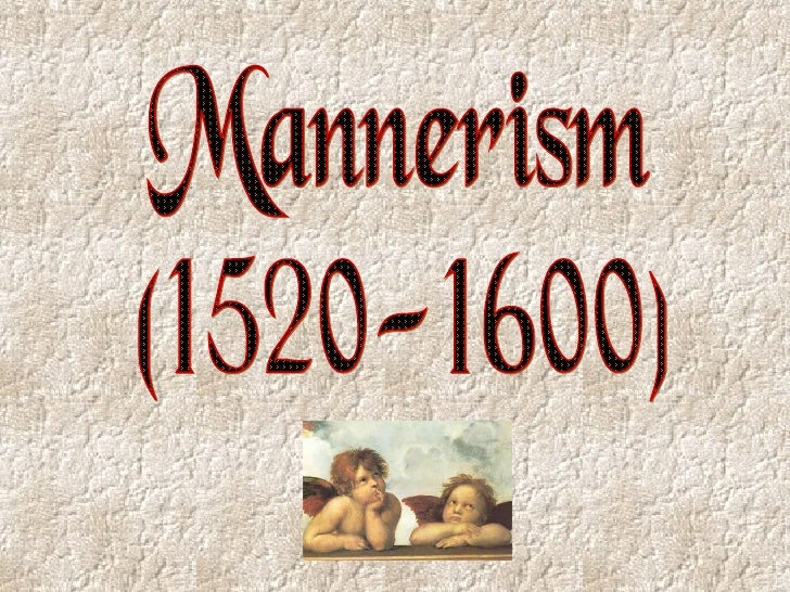 Powerpoint   mannerism and baroque