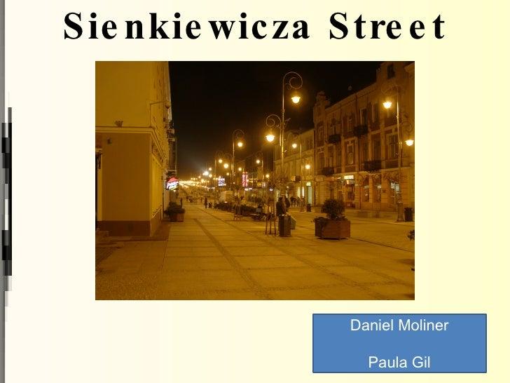 Monuments in Kielce: Sienkiewicza Street