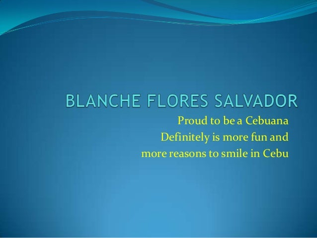 Proud to be a Cebuana   Definitely is more fun andmore reasons to smile in Cebu