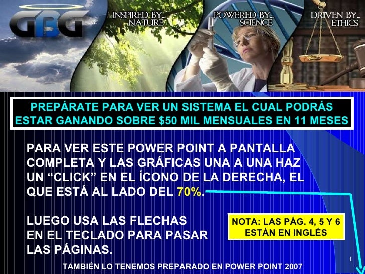 """PARA VER ESTE POWER POINT A PANTALLA COMPLETA Y LAS GRÁFICAS UNA A UNA HAZ UN """"CLICK"""" EN EL ÍCONO DE LA DERECHA, EL QUE ES..."""