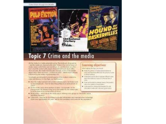 7 MEDIA AND CRIME POWERPOINT