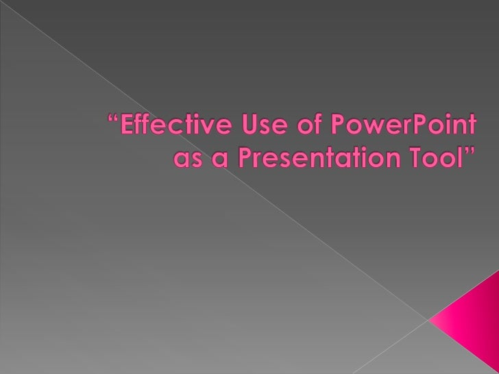 Slide presentation software such asPowerPoint has become an ingrainedpart of many instructional settings,particularly in l...