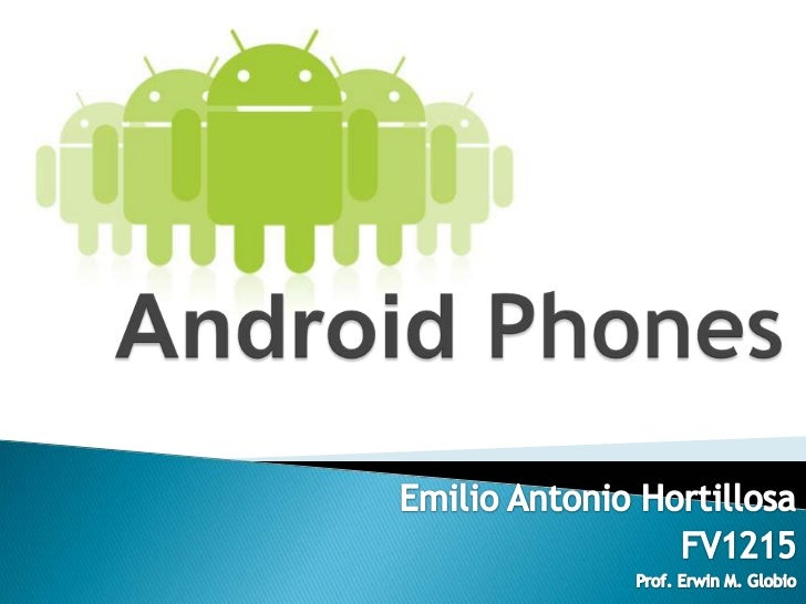   Android is a Linux-based operating system for mobile devices such    as smartphones and tablet computers, developed by...