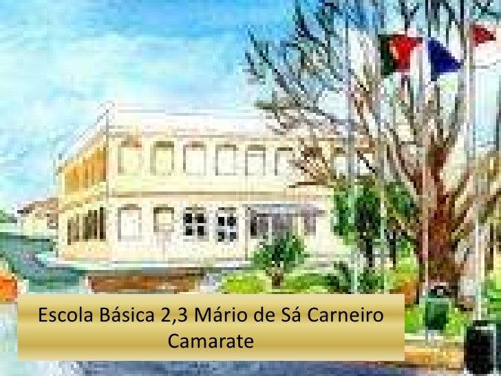 Escola Básica 2,3 Mário de Sá Carneiro               Camarate