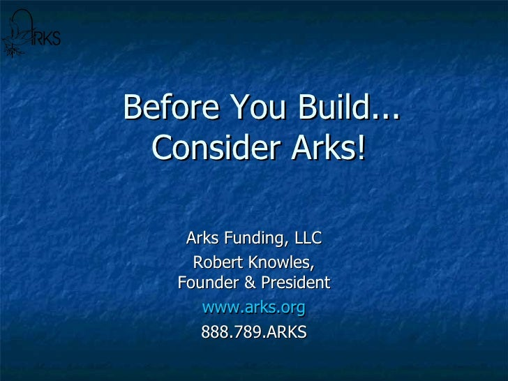 Arks Presentation