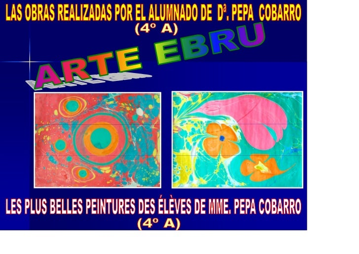 Power point arte ebru obras pepa