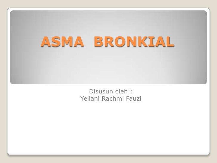 Power point asma  bronkial